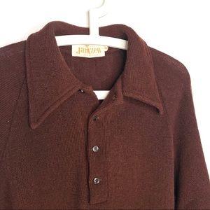Vintage Jantzen Grandpa Sweater 60s/70s